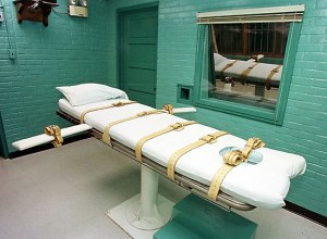 How can a disciple see past the position of one killed by lethal injection?